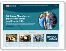 Internetauftritt Deutsche Bahn Stiftung
