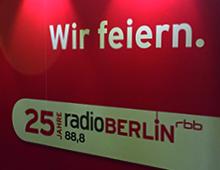 25 Jahre radioBerlin – Ausstellung